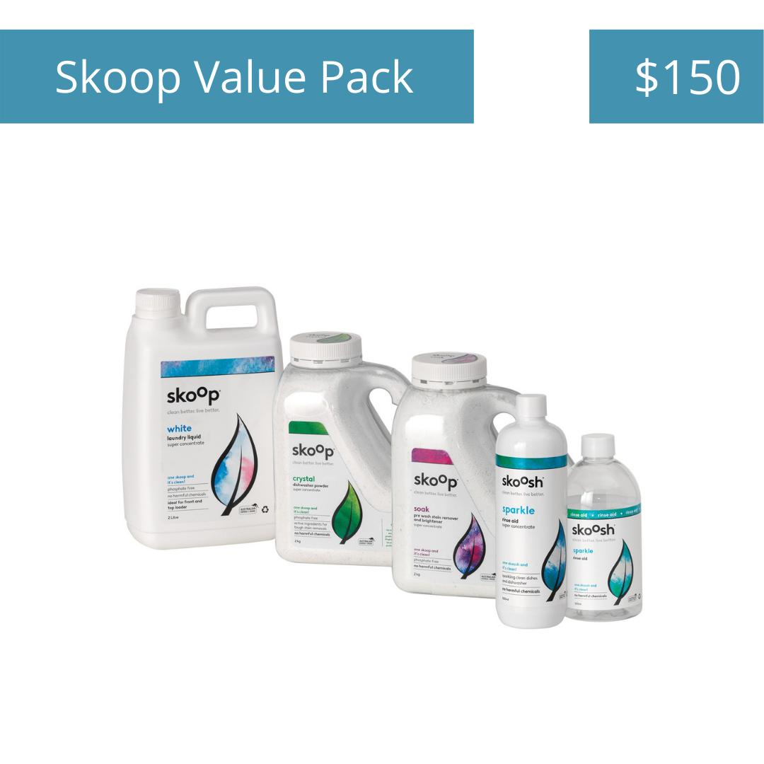 Skoop Value Pack - $150