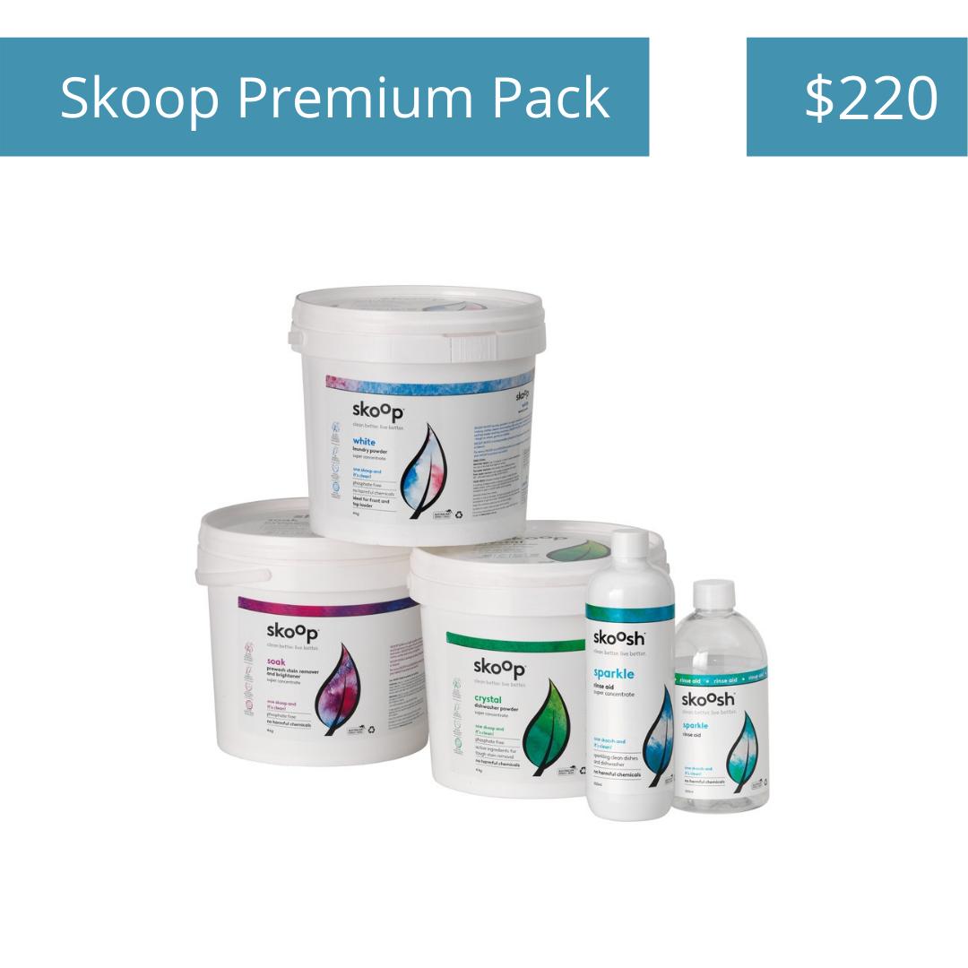 Skoop Premium Pack - $220