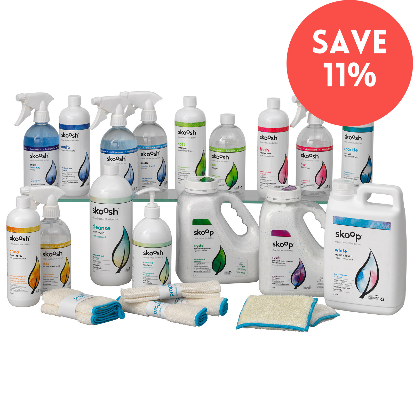Propre Value Pack - Savings in Pack than Individual
